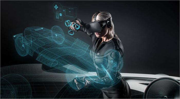 Tesla suit is a full body VR suit
