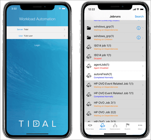 Tidal Workload Automation