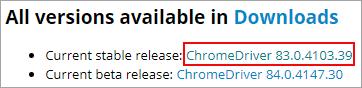 ChromeDriver