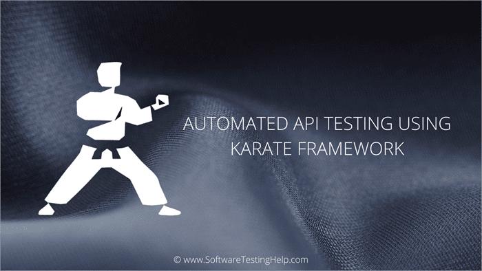 API TESTING WITH KARATE FRAMEWORK