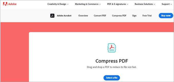 Adobe PDF Compressor