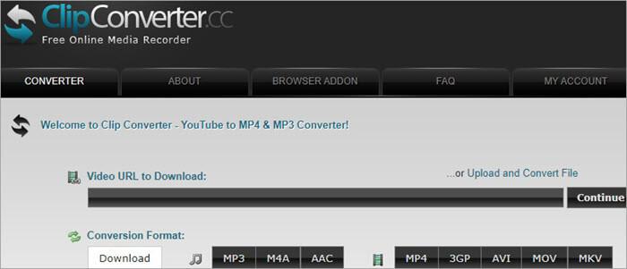 ClipConverter.cc_Dashboard