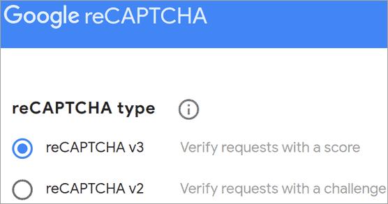 Googe_reCaptcha_type