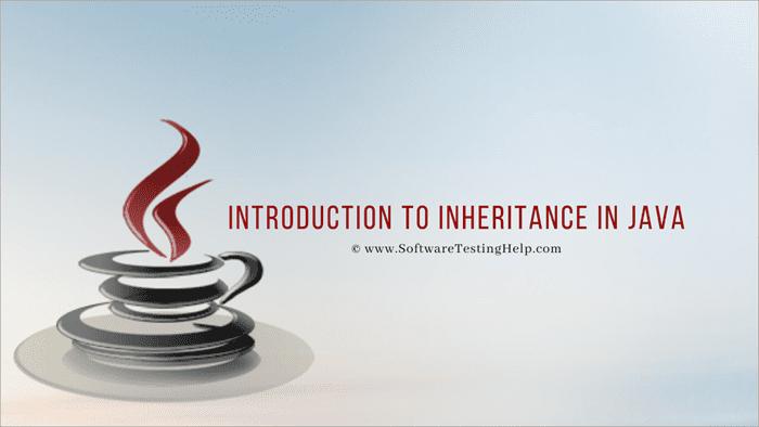 Inheritance in Java – Introduction