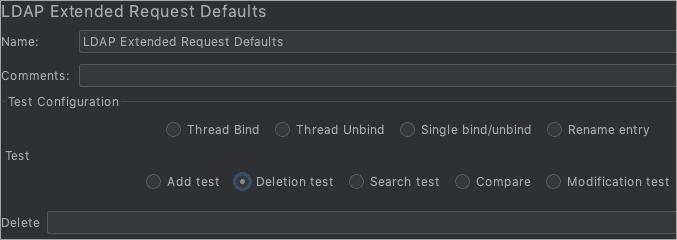 LDAP extended_Delete