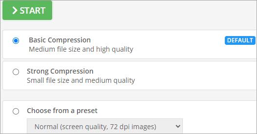 Basic Compression