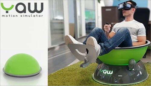 Yaw VR motion chair