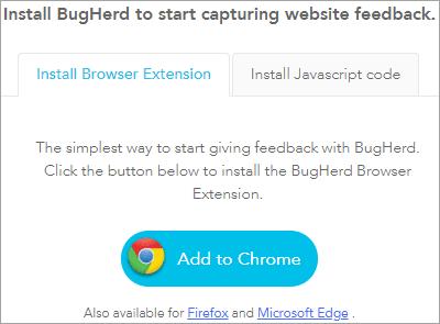 capturing website feedback