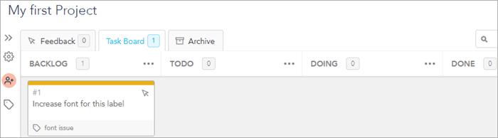 project taskboard