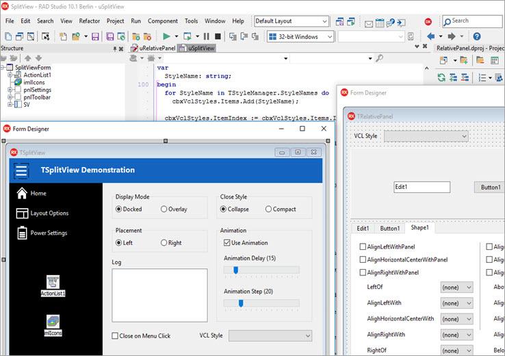 C++ builder IDE