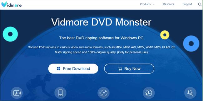 Vidmore DVD Ripper