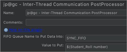 Inter thread communication PostProcessor