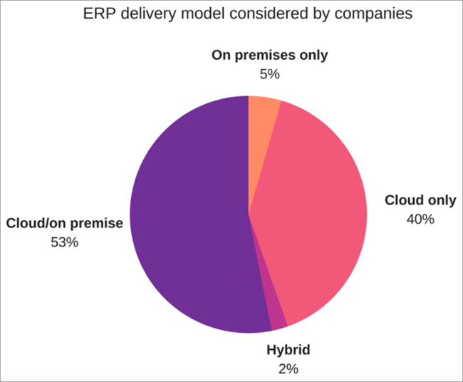 ERP delivery model