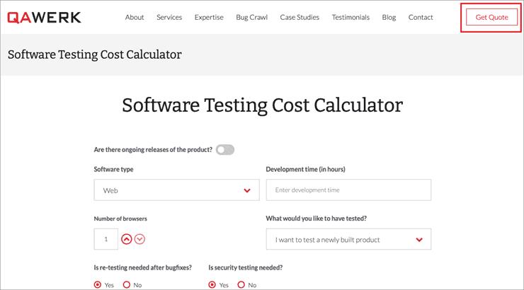 AWERK_testing calculator