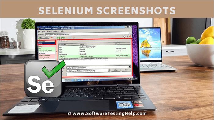 Selenium Screenshots