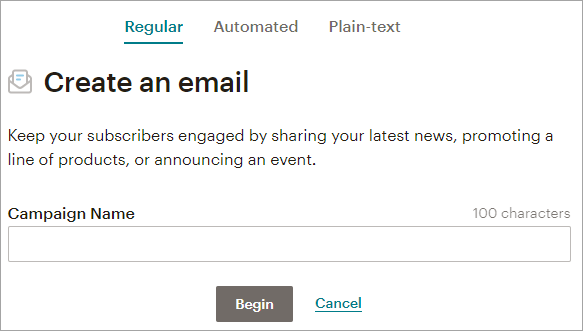 Email Campaigns Mailchimp