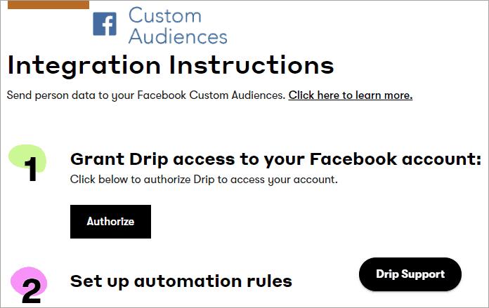 social media integration instructions