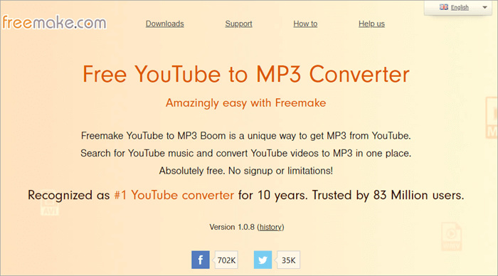 Freemake YouTube to MP3 Boom