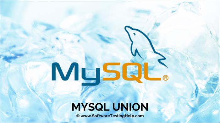MySQL UNION