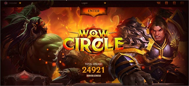 WoW Circle Website