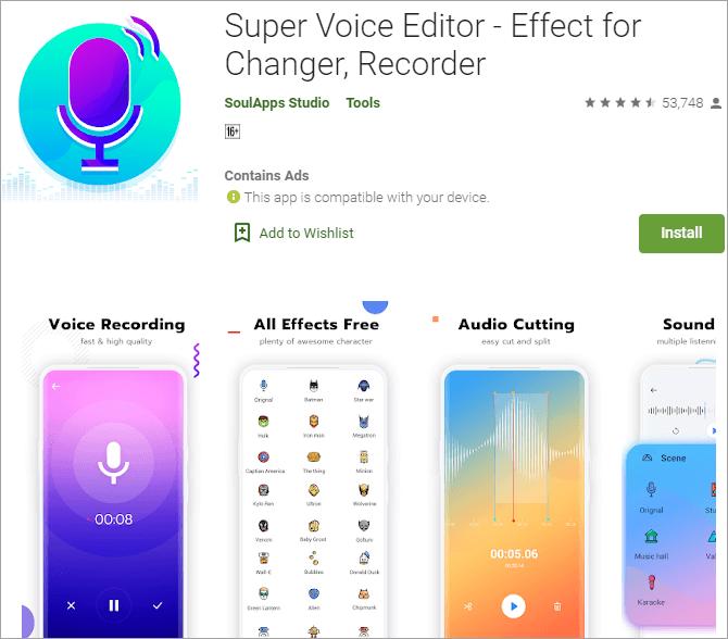 Super Voice Editor