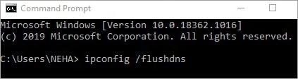 step-2 clear DNS