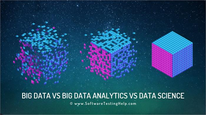 Big Data vs Big Data Analytics vs Data Science