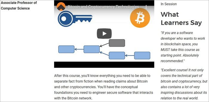 Bitcoin and Cryptocurrency Technology