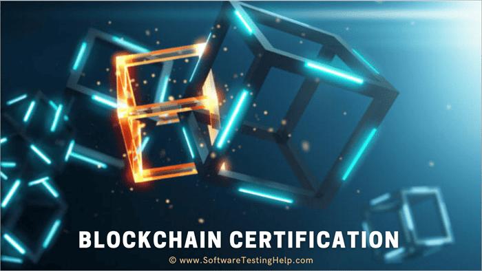 Blockchain certification Tutorial