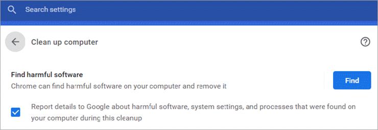 Find Harmful Software