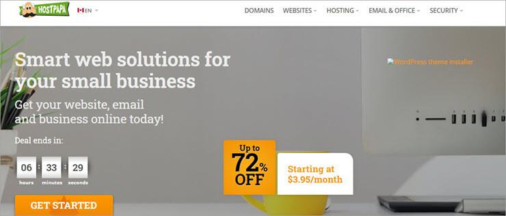 HostPapa Website