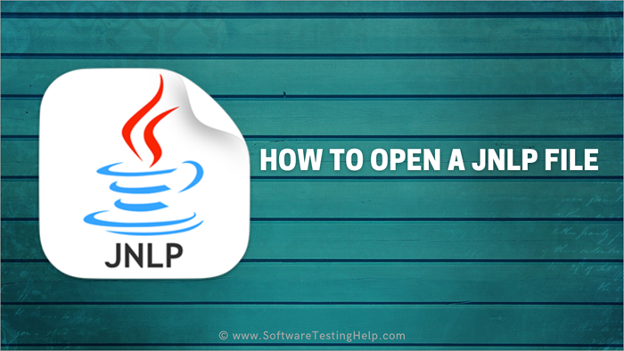 How to Open a JNLP File