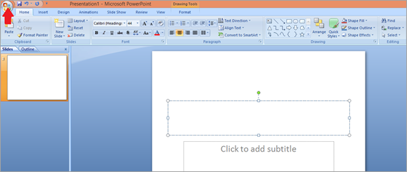 How to open Key file with PowerPoint
