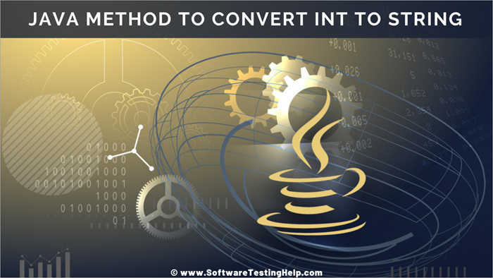 Java method to convert int to String