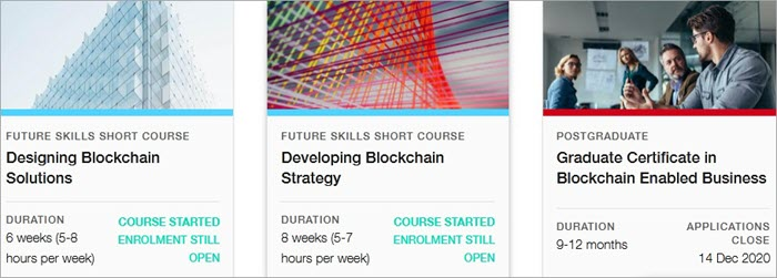 Master of Blockchain Enabled Business