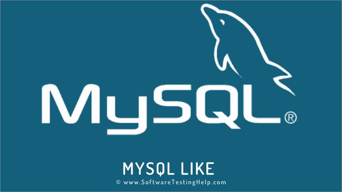 MySQL LIKE