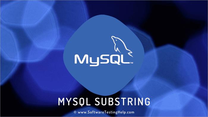 MySQL Substring