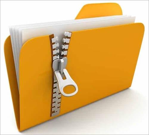 Convert Key Files to ZIP