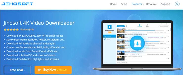 jihosof 4k Video Downloader