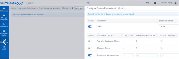 Configure Queue Properties