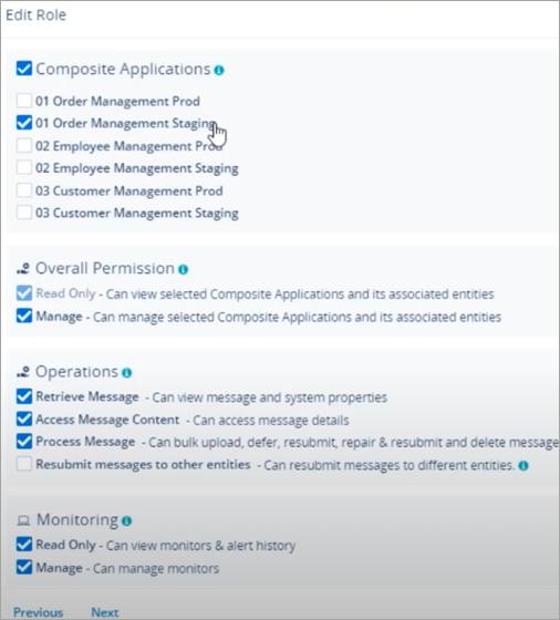 specific composite application