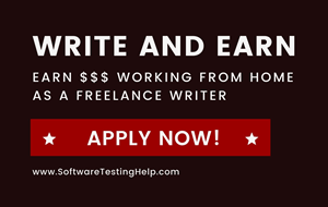 Software Testing freelancing author jobs
