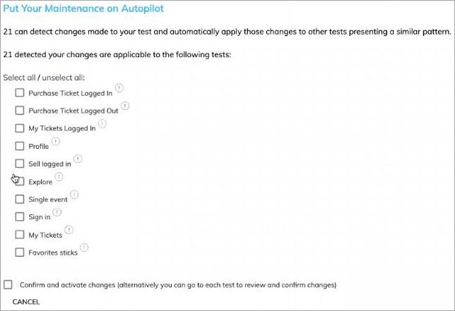 Auto Test maintenance new