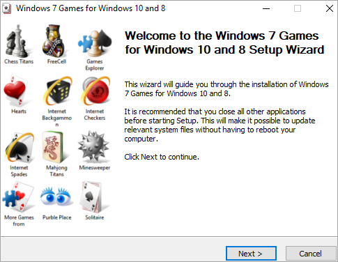 Windows 7 Games for Windows 10