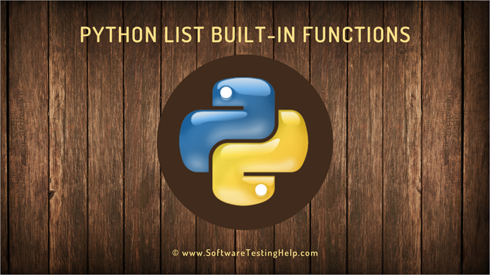 Python List Built-in Functions