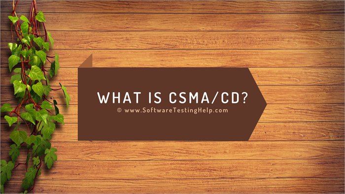What is CSMA_CD