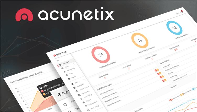 Acunetix Dashboard