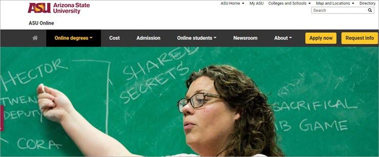 Online Bachelor of Arts in English: Arizona State University