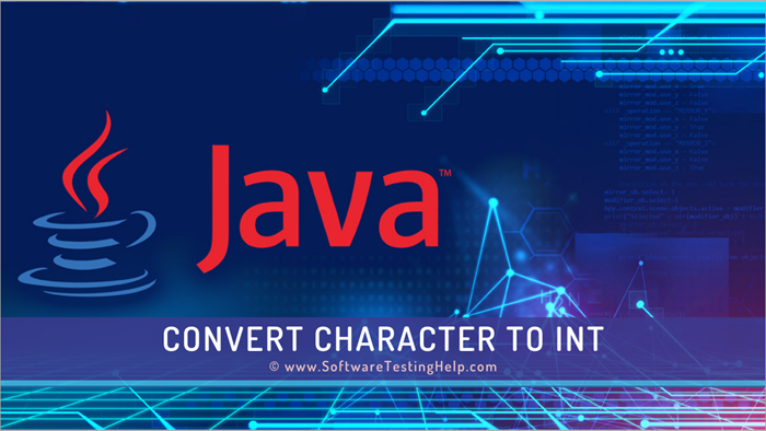 Convert character to int in Java
