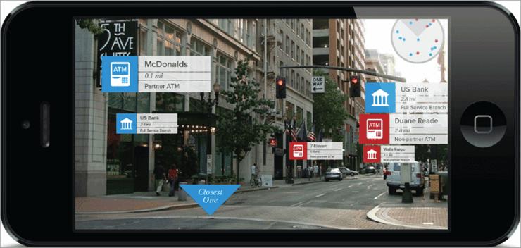 Location-based AR app